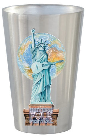 Full Color Stainless Steel Pints