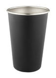 16 oz. Stainless Pint Black #88M-07 - 2