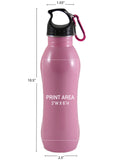 24 oz. Summit SS Bottle - Pink #93-34 - 3
