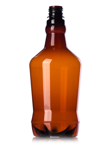 32 oz. Plastic Amber Growler