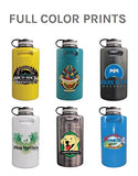 Full Color Direct Print Insulated Keg Growlers