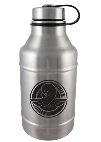 64 oz. Double Wall Barrel Growler #DWBC-02 - 1