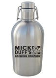 64 oz. SS Swingtop Growler #SG-02 - 1