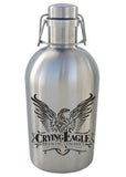 32 oz. SS Swingtop Growler #SG-32 - 1