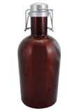 64 oz. Merlot Growler with Handle #SG-64-AM-H - 2