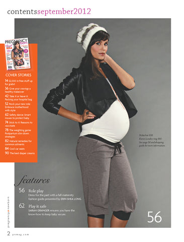 Inside Sept 2012 Pregnancy and Newborn with Lilac Clothing
