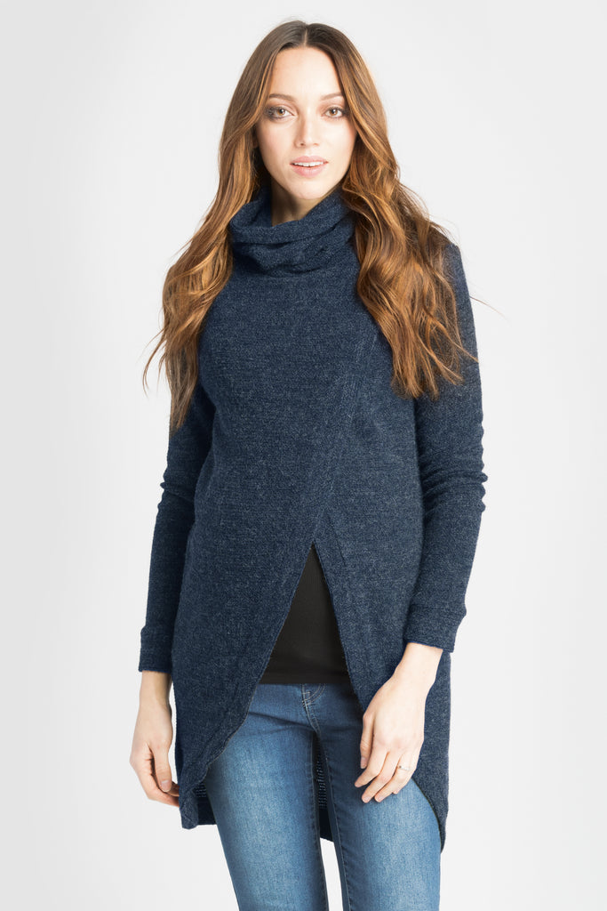 Sweater Tunic - Navy