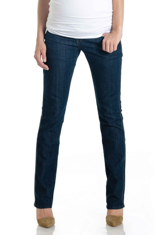 Straight Leg Denim Vintage Dark Wash
