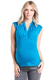 Megan Top Blue