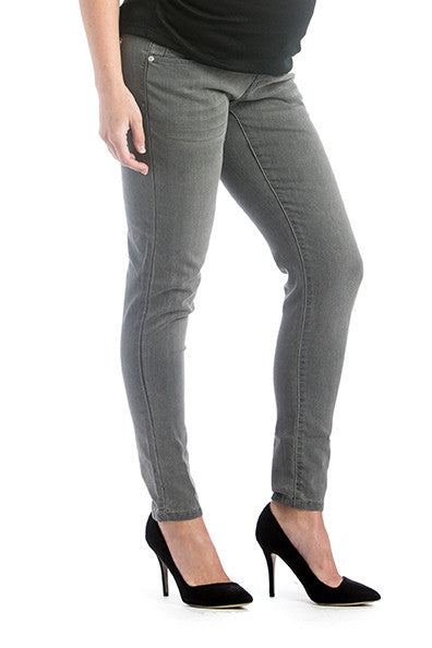 Colored Skinny Denim Grey