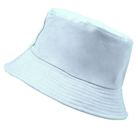 Assorted Solid Color Panama Bucket Hat