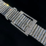 CZ Diamond Belt