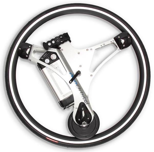 Refurbished GeoOrbital Road Wheel - (fits 700C, 28in, 27.5in, and 29in)