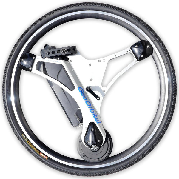 GeoOrbital wheel 29 in Boston Silver