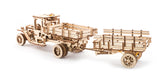 Bundle 2 in 1 Mechanical Truck UGM 11+ Set of additions for Truck UGM 11 wooden puzzles