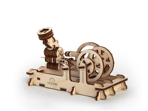 Pneumatic Engine - Ugears Mechanical 3D Puzzle Tinker Toy