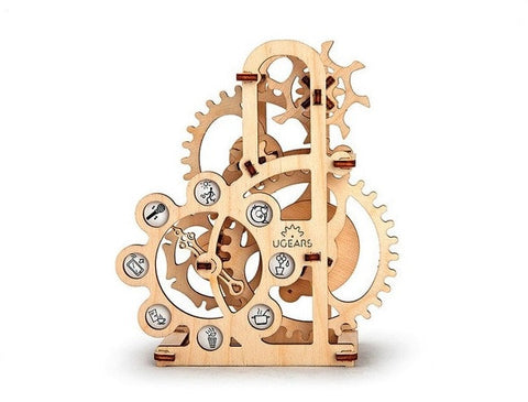 Geneva drive (Dynamometer)- Ugears Mechanical 3D Puzzle Tinker Toy