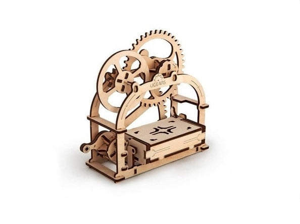 mechanical 3d puzzle of Treasure Box