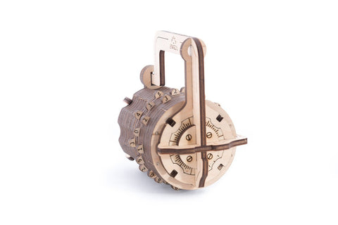 Сombination Lock model - Ugears Mechanical 3D Puzzle Tinker Toy