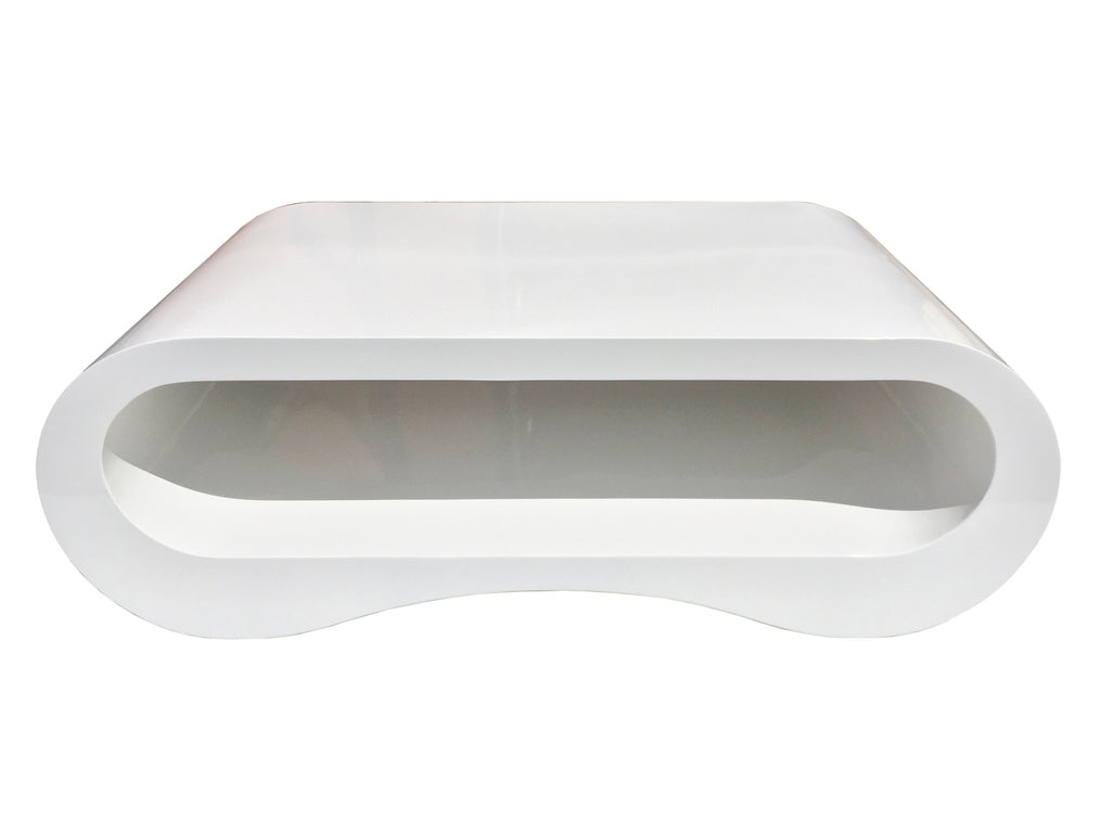 White Lacquer Coffee Table Modern White Lacquer Hoop Coffee Table Tv Stand Victoria Bc