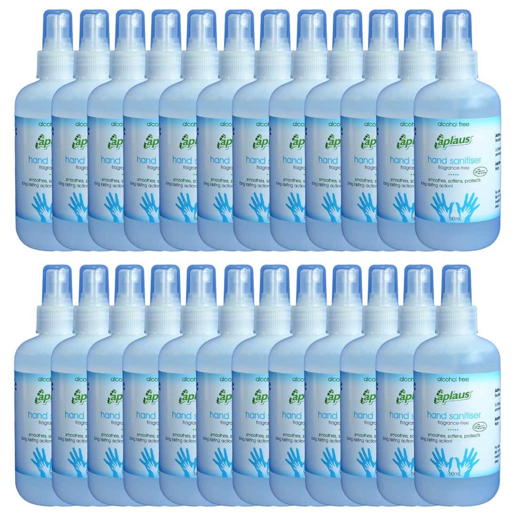 Hand Sanitizer - Fragrance Free (50ml) - [24 Pack]