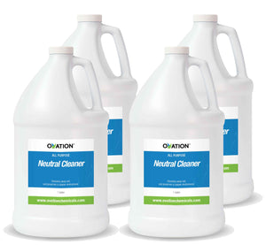 Ovation All Purpose Neutral Cleaner (Case of 1 Gallon) by Katan Technologies