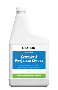 Ovation Heavy Duty Descaler & Equipment Cleaner (32oz / 1L) by Katan Technologies