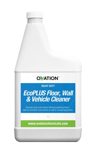Ovation Heavy Duty EcoPLUS Floor, Wall & Vehicle Cleaner (32oz/1L) by Katan Technologies