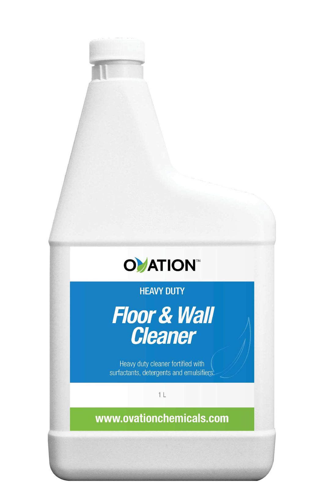 Ovation Heavy Duty Floor and Wall Cleaner (32oz / 1L) by Katan Technologies