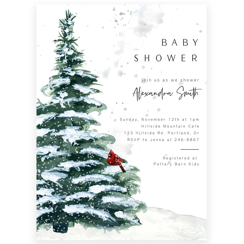 Edit Yourself Baby Shower Invitation | www.foreveryourprints.com
