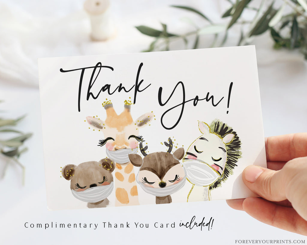Complimentary Thank You Card | www.foreveryourprints.com