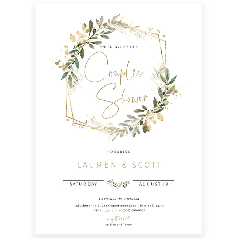 Edit Your Own Baby Shower Invitation | www.foreveryourprints.com