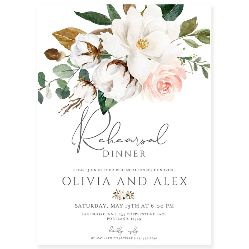Edit Yourself Bridal Shower Invitation | www.foreveryourprints.com