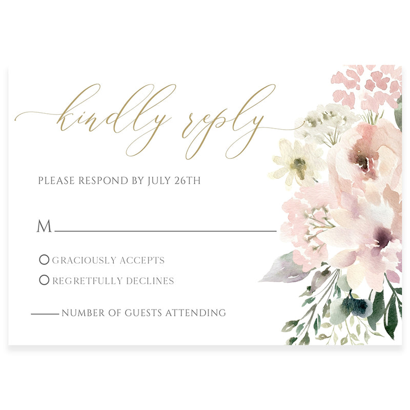 Edit With Corjl RSVP Reply Cards | www.foreveryourprints.com