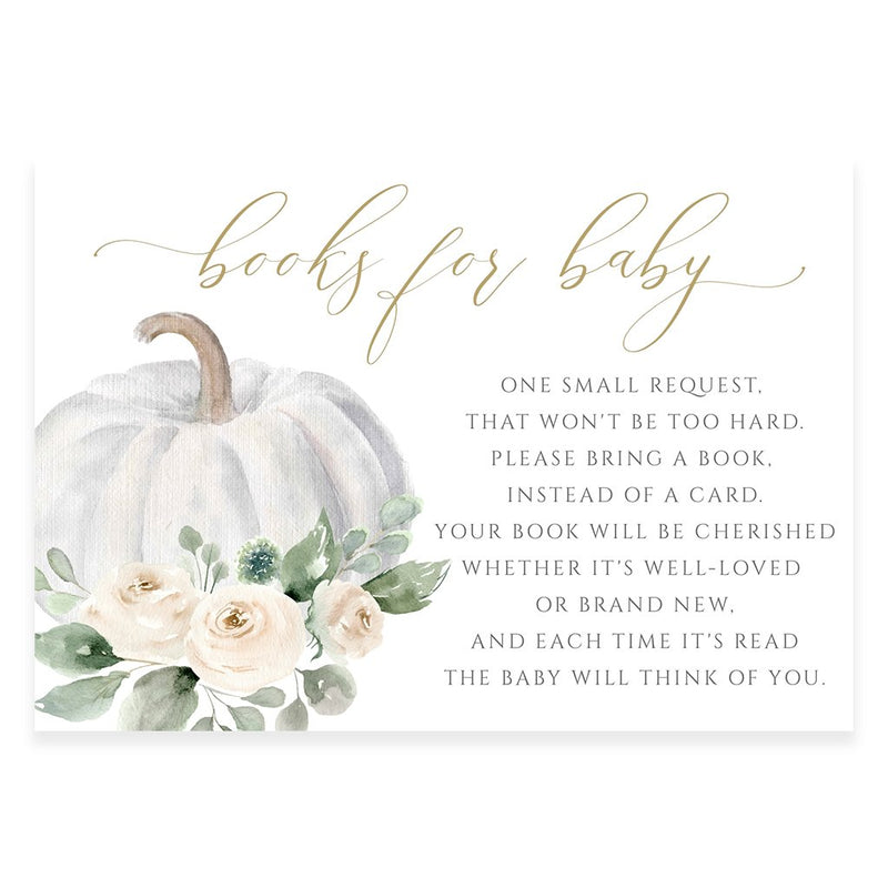Pumpkin Book Request Card | www.foreveryourprints.com