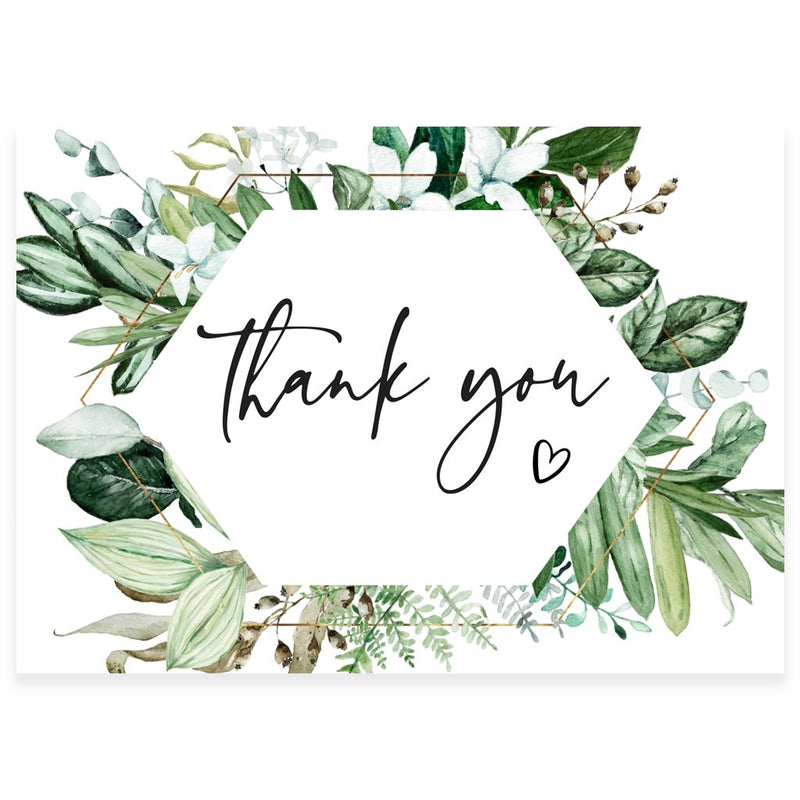 Editable Thank You Card  | www.foreveryourprints.com