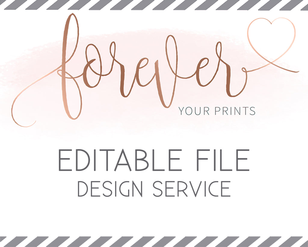 Editable Template Design Service