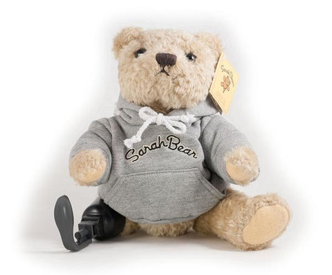 SarahBear with Hoodie — PERSONALIZED