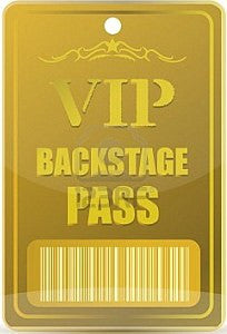 Backstage Pass offer!