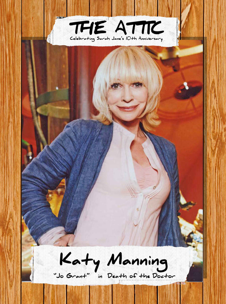 Please welcome KATY MANNING!