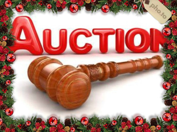 XMAS AUCTION! Scripts, artwork, toys and other priceless items!
