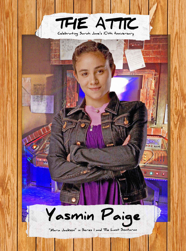 Please welcome YASMIN PAIGE