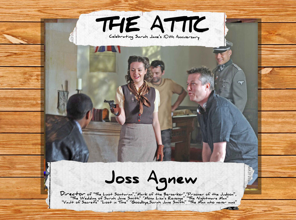 Please welcome JOSS AGNEW!