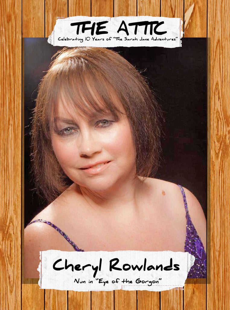 Please welcome CHERYL ROWLANDS!