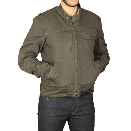 Men's Rocker Jacket - Olive