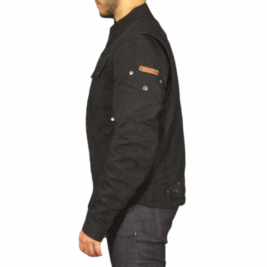 Men's Rocker Jacket - Black