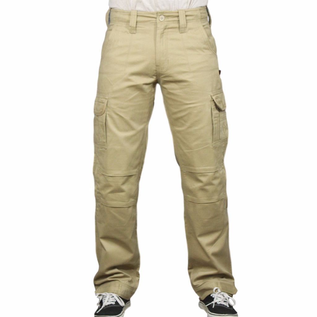 Men's Cargo Pants - Tan
