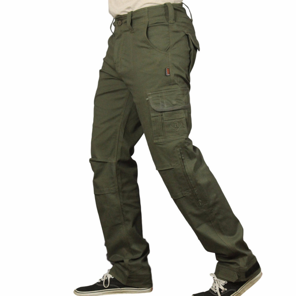 d84498b382a MEN'S CARGO PANTS - GREEN | RESURGENCE GEAR – Resurgence Sports