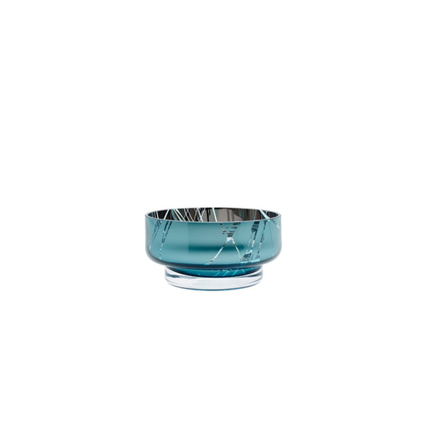 mini disc teal bowl