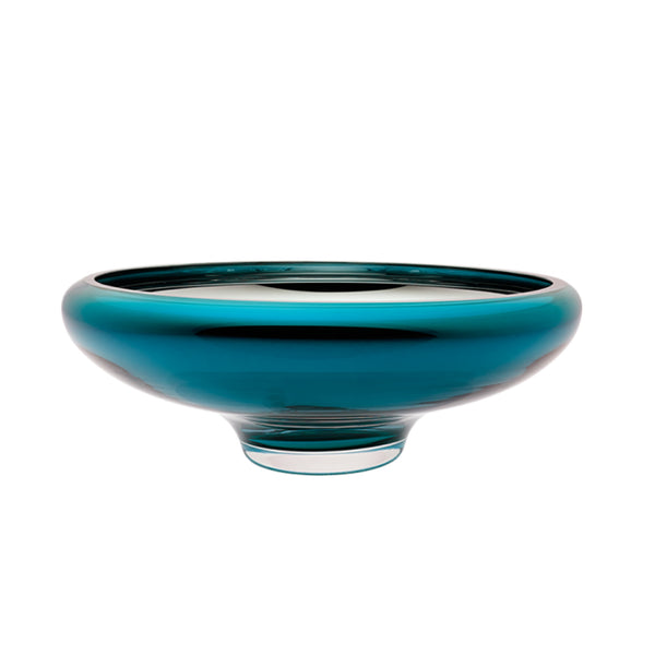 large teal bowl